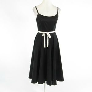 Mario Balthazar black A-line dress 2
